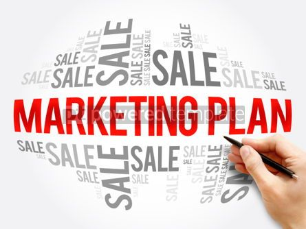 Business: Marketing Plan word cloud collage #06133