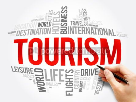Business: Tourism word cloud collage #06136