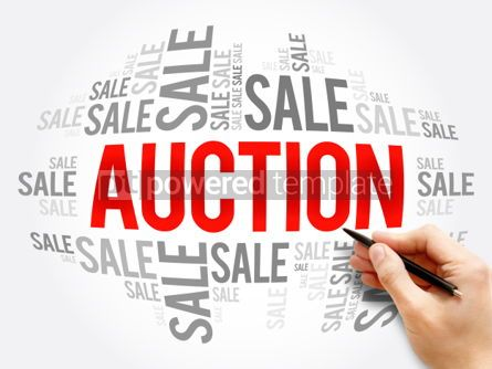 Business: AUCTION word cloud collage #06139