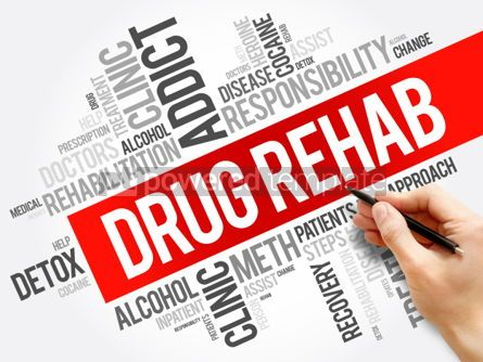 Business: Drug Rehab word cloud collage #06146