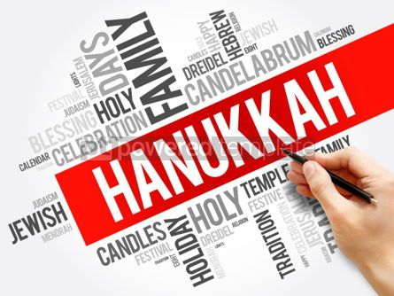Business: Hanukkah word cloud collage #06148