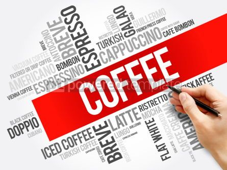 Business: List of coffee drinks words clous #06152