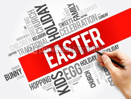 Business: Easter word cloud collage #06153