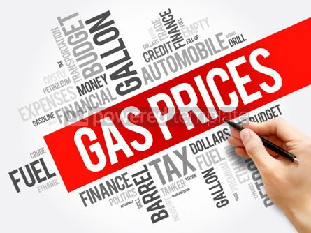 Business: Gas Prices word cloud collage #06163