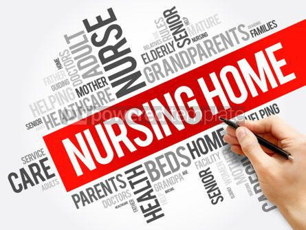 Business: Nursing Home word cloud collage #06175