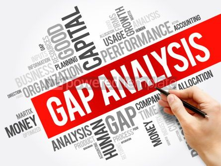 Business: Gap Analysis word cloud collage #06184