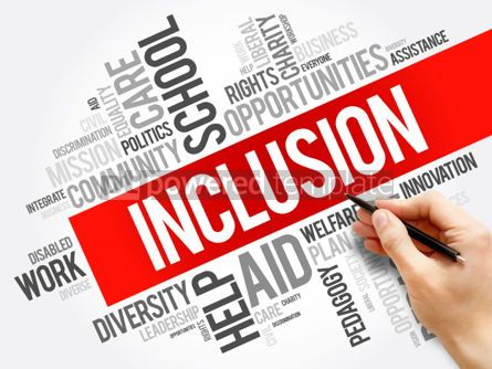Business: Inclusion word cloud collage #06186