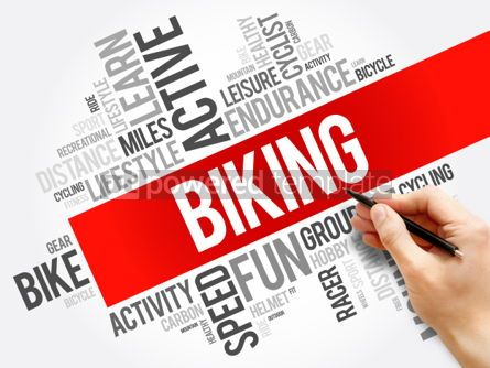 Business: Biking word cloud collage #06188