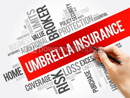 Business: Umbrella Insurance word cloud collage #06191
