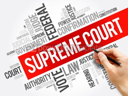 Business: Supreme Court word cloud collage #06196