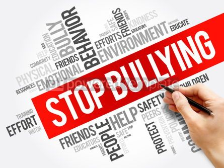 Business: Stop Bullying word cloud collage #06203