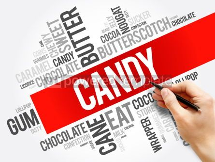 Business: Candy word cloud collage #06207