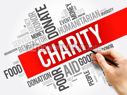 Business: Charity word cloud collage #06208