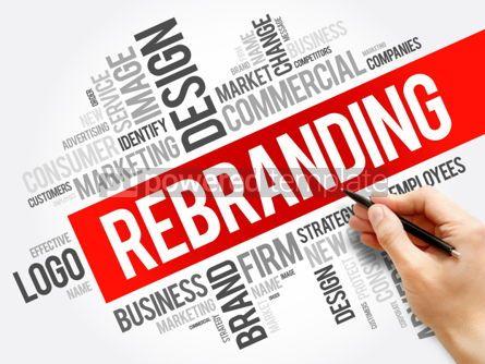 Business: Rebranding word cloud collage #06210