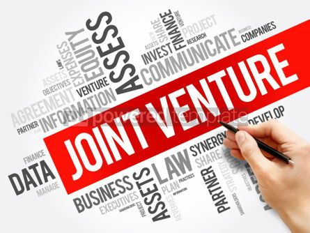 Business: Joint Venture word cloud collage #06212