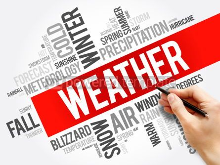 Business: Weather word cloud collage #06215