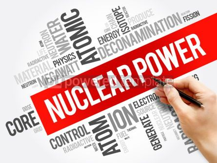 Business: Nuclear Power word cloud collage #06226