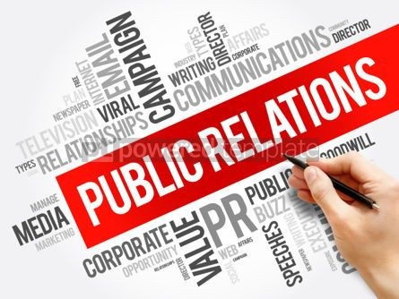 Business: Public Relations word cloud collage #06233