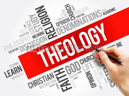 Business: Theology word cloud collage #06248