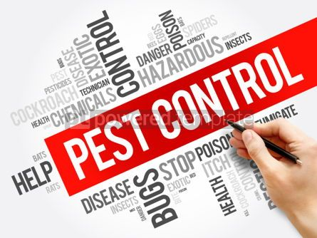 Business: Pest Control word cloud collage #06249