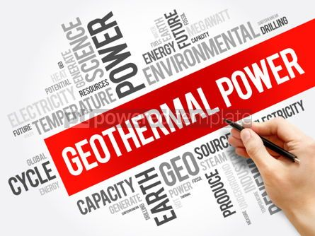 Business: Geothermal Power word cloud collage #06250