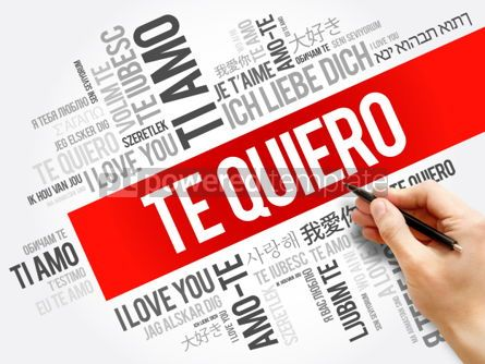 Business: Te quiero (I Love You in Spanish) #06251