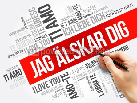 Business: Jag alskar dig (I Love You in Swedish) #06258