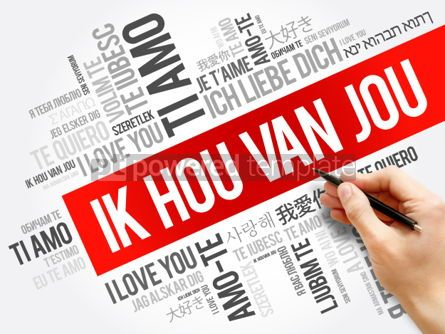 Business: Ik hou van jou (I Love You in Dutch) #06259