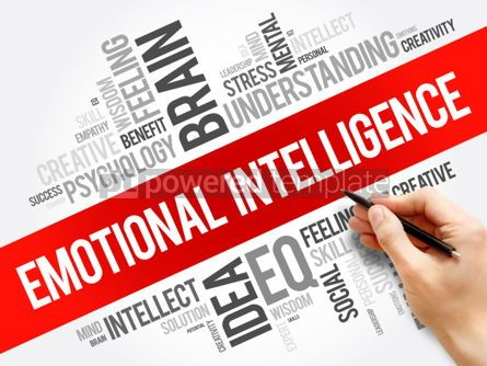 Business: Emotional intelligence word cloud collage #06270