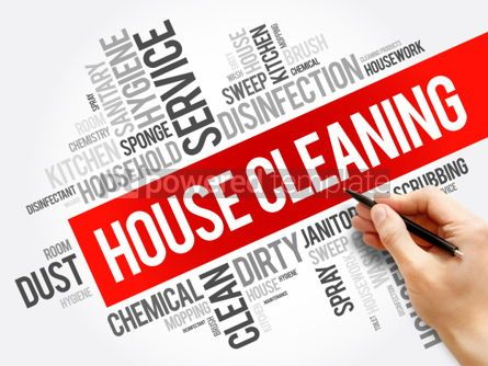 Business: House Cleaning word cloud collage #06274