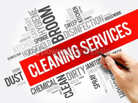 Business: Cleaning Services word cloud collage #06275