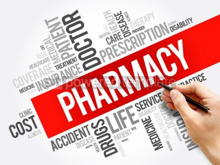 Business: Pharmacy word cloud collage #06278