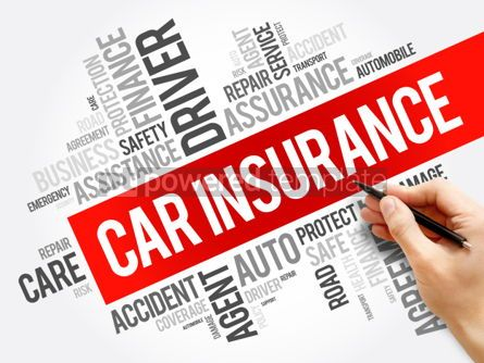 Business: Car insurance word cloud collage #06282