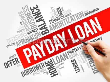 Business: Payday Loan word cloud collage #06284