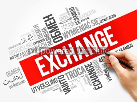 Business: Exchange word cloud in different languages #06287