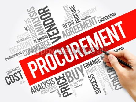Business: Procurement word cloud collage #06288