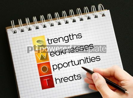Business: SWOT Analysis business concept #06290