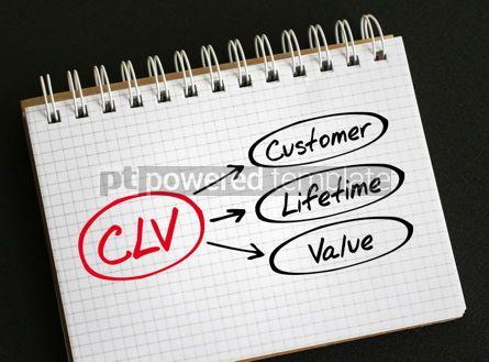 Business: CLV - Customer Lifetime Value acronym #06298