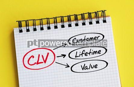 Business: CLV - Customer Lifetime Value acronym #06299