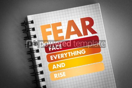 Business: FEAR - Face Everything And Rise acronym #06301