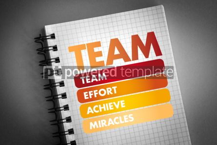 Business: TEAM - Team Effort Achieve Miracles acronym #06302
