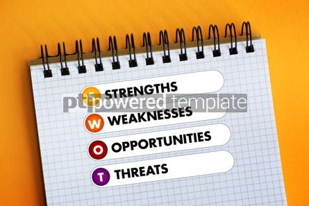 Business: SWOT Analysis business concept #06314