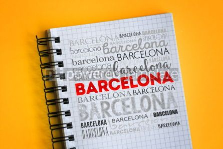 Business: Barcelona word cloud collage #06315