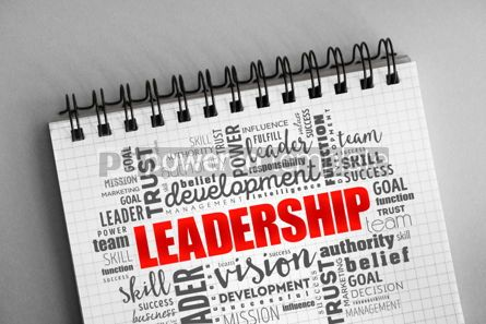 Business: LEADERSHIP word cloud collage #06320