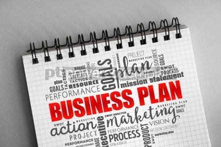 Business: Business plan word cloud collage #06324