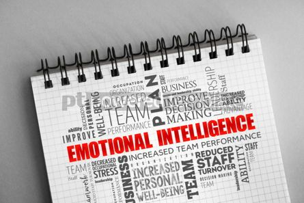 Business: Emotional intelligence word cloud collage #06327
