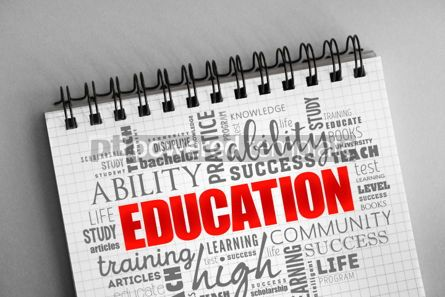 Business: EDUCATION word cloud collage #06343