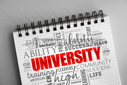 Business: University word cloud collage #06353
