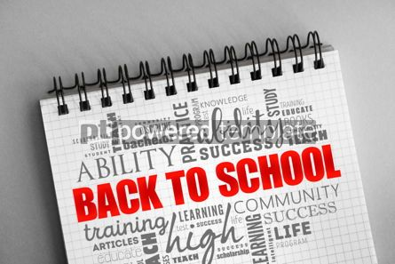 Business: Back to School word cloud collage #06355