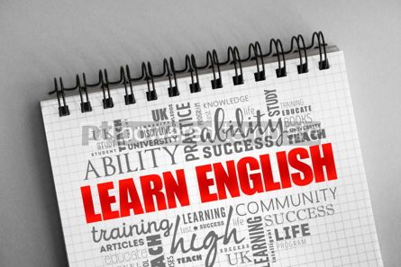 Business: Learn English word cloud collage #06358